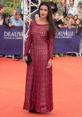Sabrina Ouazani at the Music of Silence premiere 43rd Deauville American Film Festival in Deauville, France