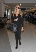 Samantha Hoopes spotted with boyfriend Salvatore Palella at LAX Airport catching a flight out of Los Angeles