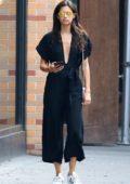 Sara Sampaio seen shopping in the Manhattan neighbourhood of SoHo in New York City