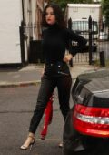 Selena Gomez arrives back at The Weeknd's apartment in New York