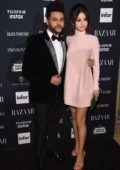 Selena Gomez and The Weeknd at the Harper's Bazaar ICONS party at New York Fashion Week