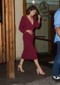 Selena Gomez leaving Sushi Seki in New York City