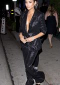 Shay Mitchell dines in style at Craigs in West Hollywood, Los Angeles