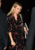 Sienna Miller leaving the Apollo Theater in London