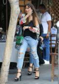 Sofia Vergara grabs a meal at Il Pastaio in Beverly Hills, Los Angeles