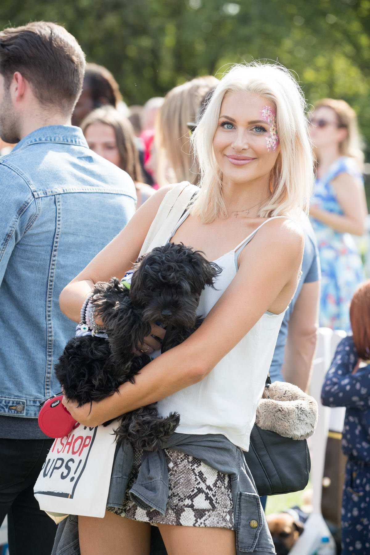 Stephanie Pratt attends the PupAid 2017 event in Primrose Hill in London