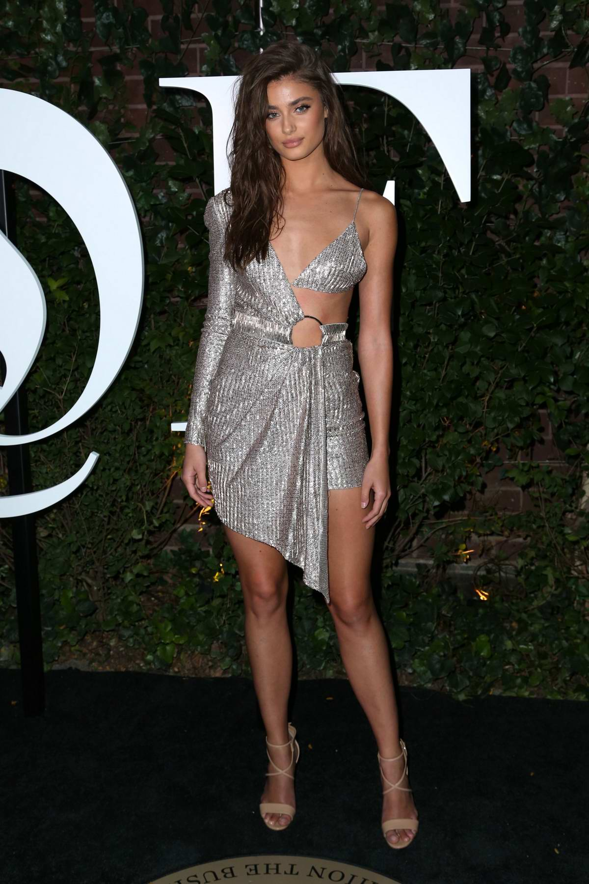 Taylor Hill at the Business of Fashion 500 Gala, spring summer 2018 during New York Fashion Week