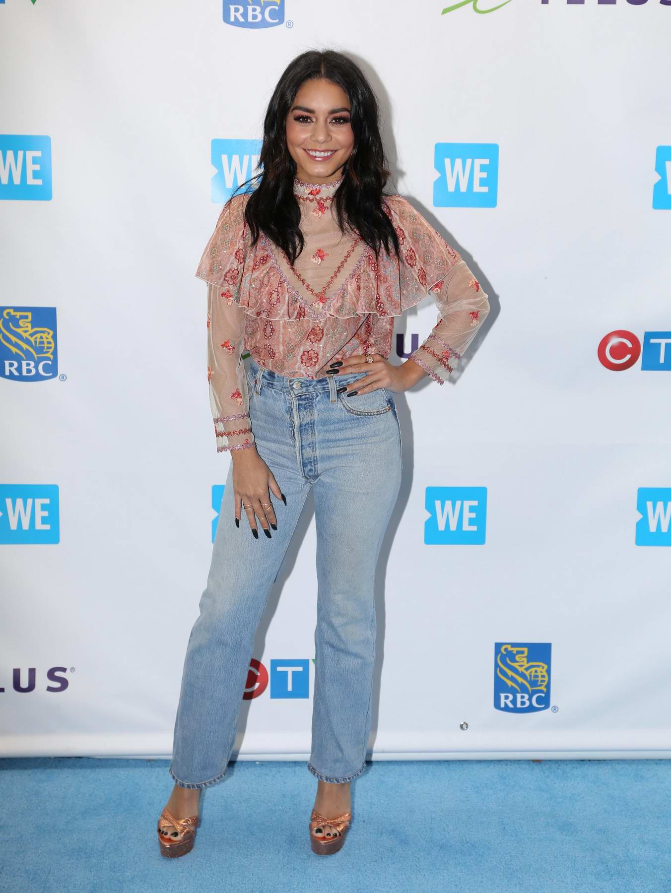 "Vanessa Hudgens arrives for ""We Day"" Charity event in Toronto"