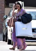 Vanessa Hudgens leaving Moschino after some shopping in Beverly Hills, Los Angeles