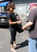 Vanessa Lachey signs autographs for fans in Los Angeles
