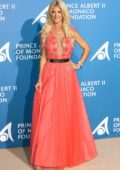 Victoria Silvstedt attends Monte Carlo Gala for The Global Ocean in Monte Carlo, Monaco