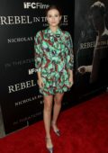 Zoey Deutch at the premiere of IFC Films 'Rebel In The Rye in New York
