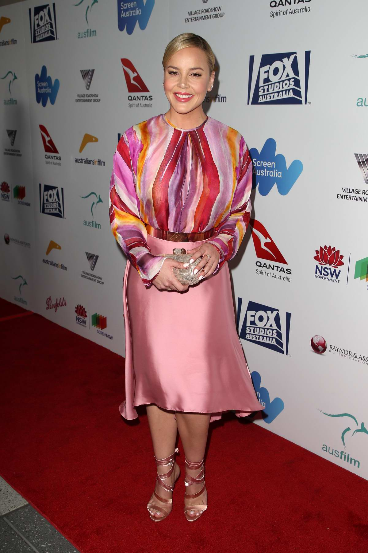 Abbie Cornish at 6th Annual Australians in Film Awards benefit dinner in Los Angeles