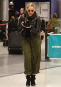 Abbie Cornish having some fun with a Paparazzi at LAX Airport, Los Angeles
