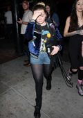 Abigail Breslin leaves a concert at Roxy Theatre in Los Angeles
