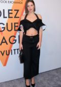 Adele Exarchopoulos at Louis Vuitton 'Volez, Voguez, Voyagez' exhibition opening in New York