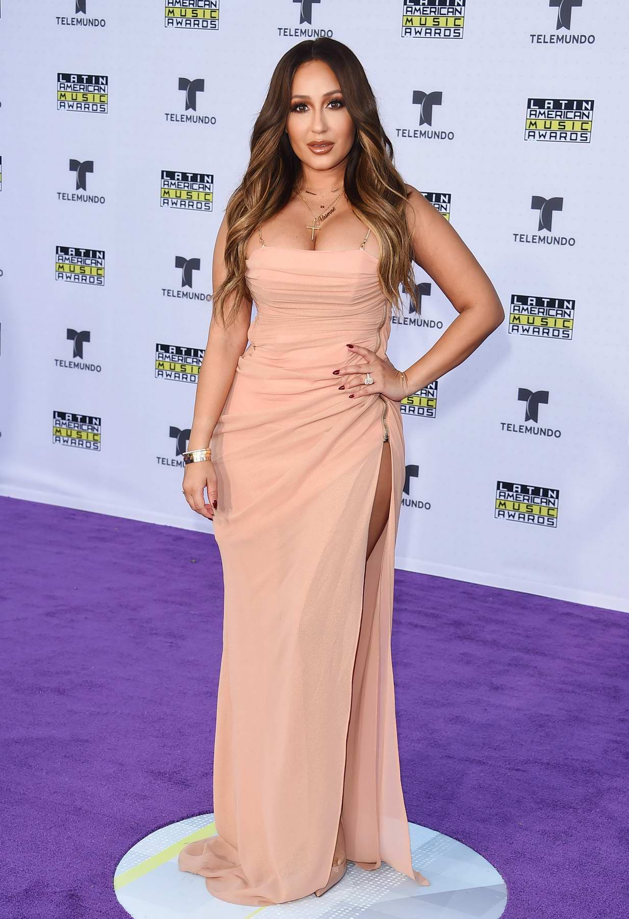 Adrienne Bailon at Latin American Music Awards in Los Angeles
