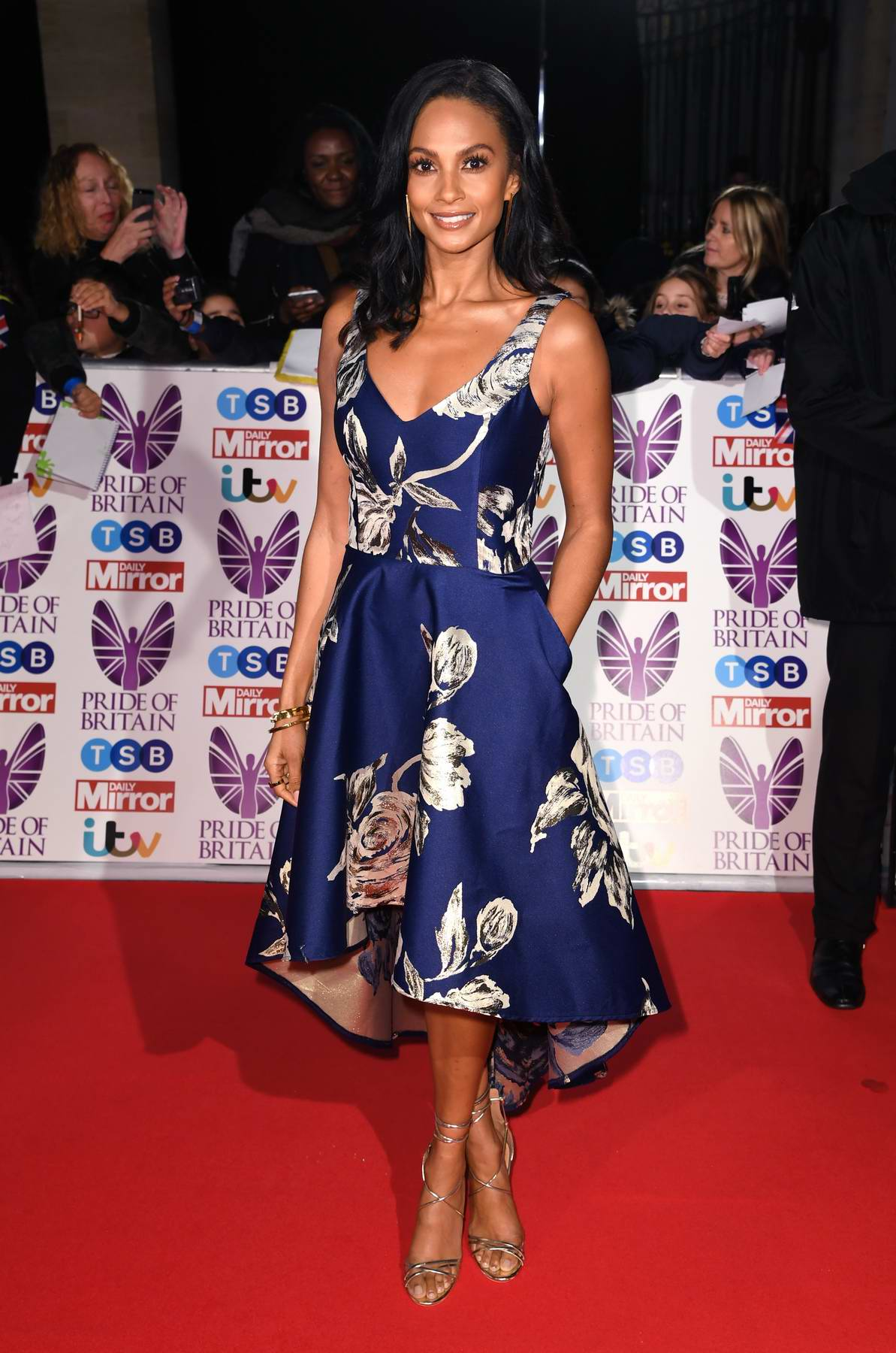 Alesha Dixon at the Pride of Britain Awards held at the Grosvenor House in London