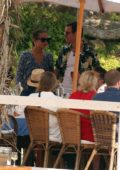 Alicia Vikander and Michael Fassbender enjoys a brunch with their friends and family after their wedding in Ibiza, Spain