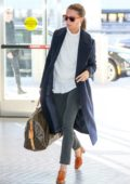 Alicia Vikander is spotted arriving JFK Airport in New York