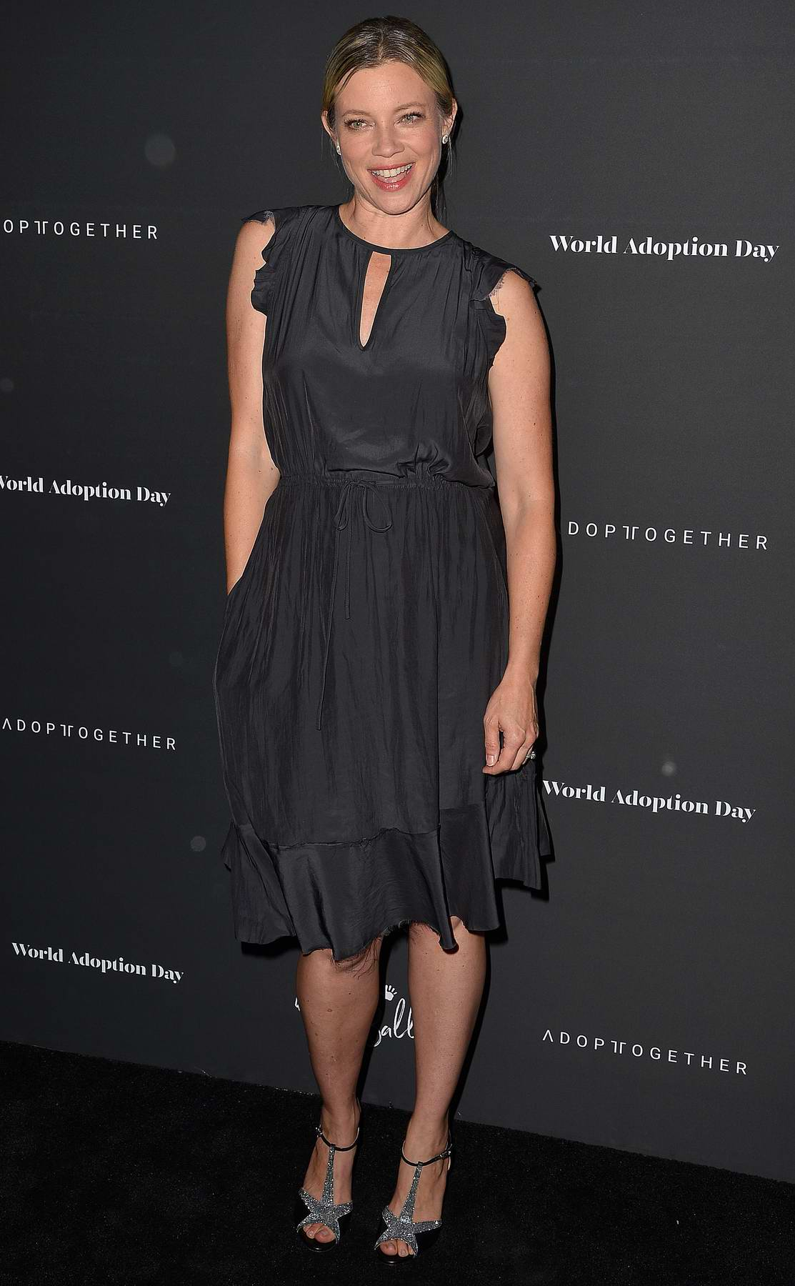 Amy Smart at Adopt Together Holds The Annual Baby Ball Hosted by Vanessa Lachey and Curtis Stone in Los Angeles