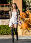 Ana Braga out to shop pumpkin for Halloween in Los Angeles