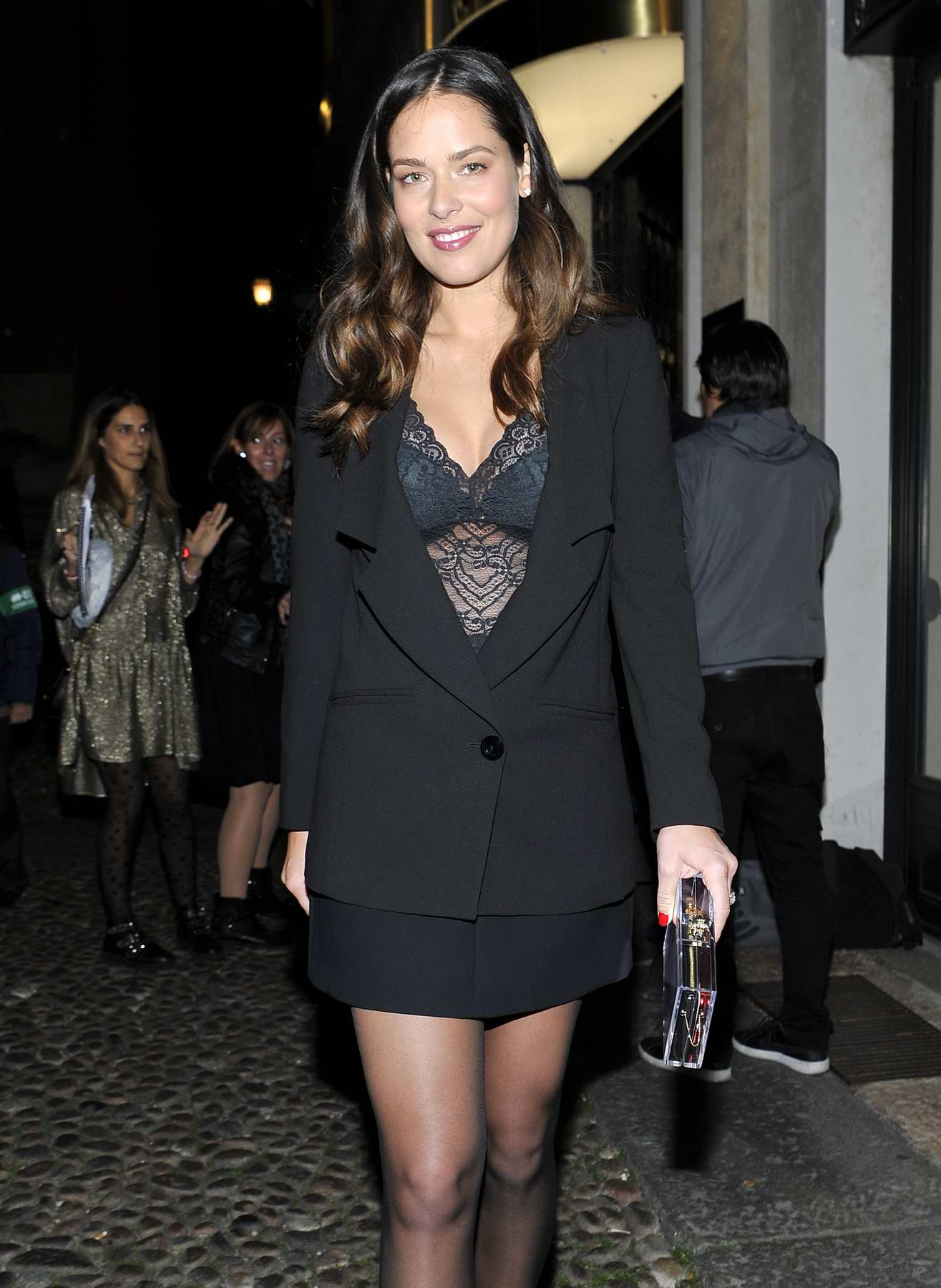 Ana Ivanovic attends the Intimissimi on Ice event in Verona, Italy