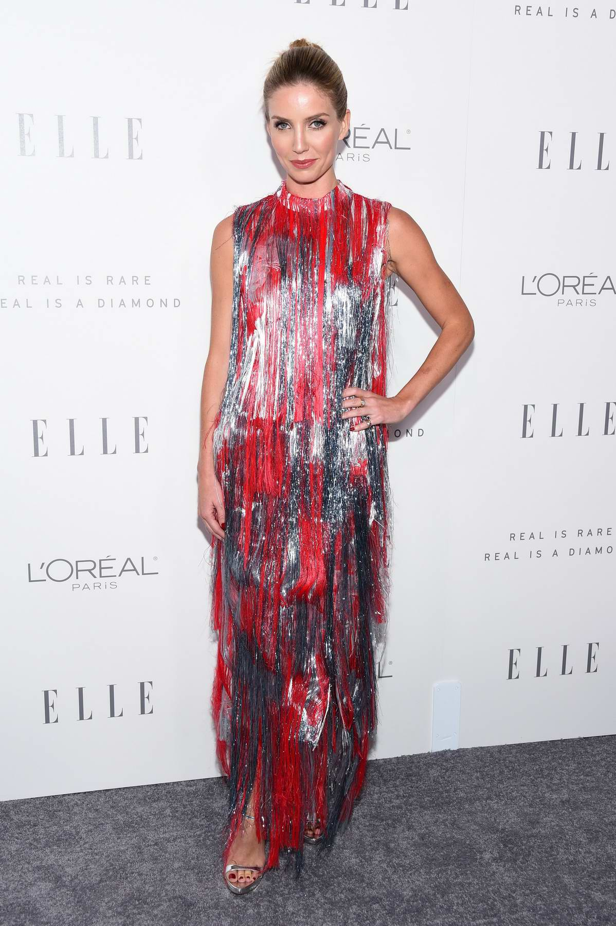 Annabelle Wallis at the Elle's 24th Annual Women in Hollywood Celebration in Los Angeles