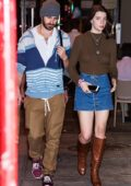 Anya Taylor-Joy and fiance Eoin Macken are seen out and about in Philadelphia, Pennsylvania