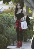 Ariel Winter seen leaving Nine Zero One salon in West Hollywood, Los Angeles
