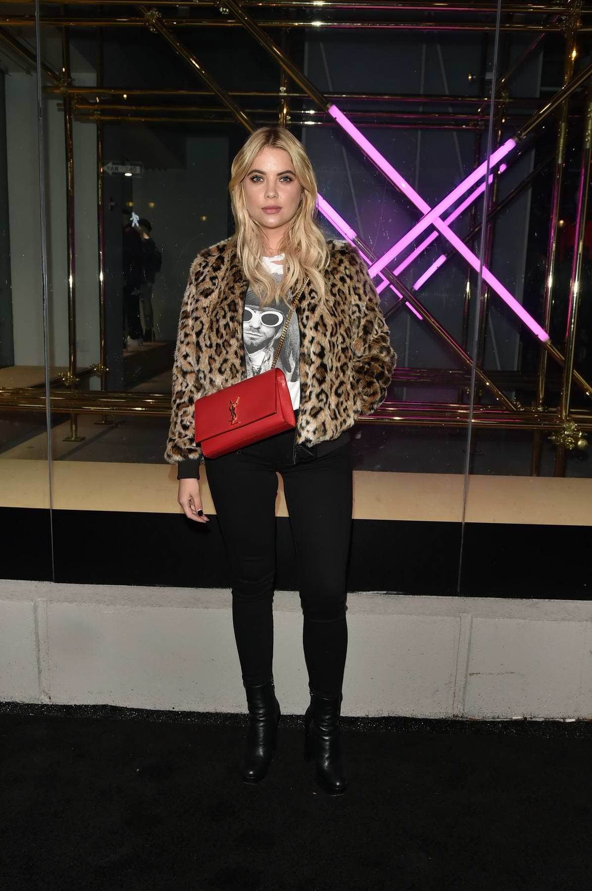 Ashley Benson at American Eagle celebrates 40 years at new AE Studio in New York