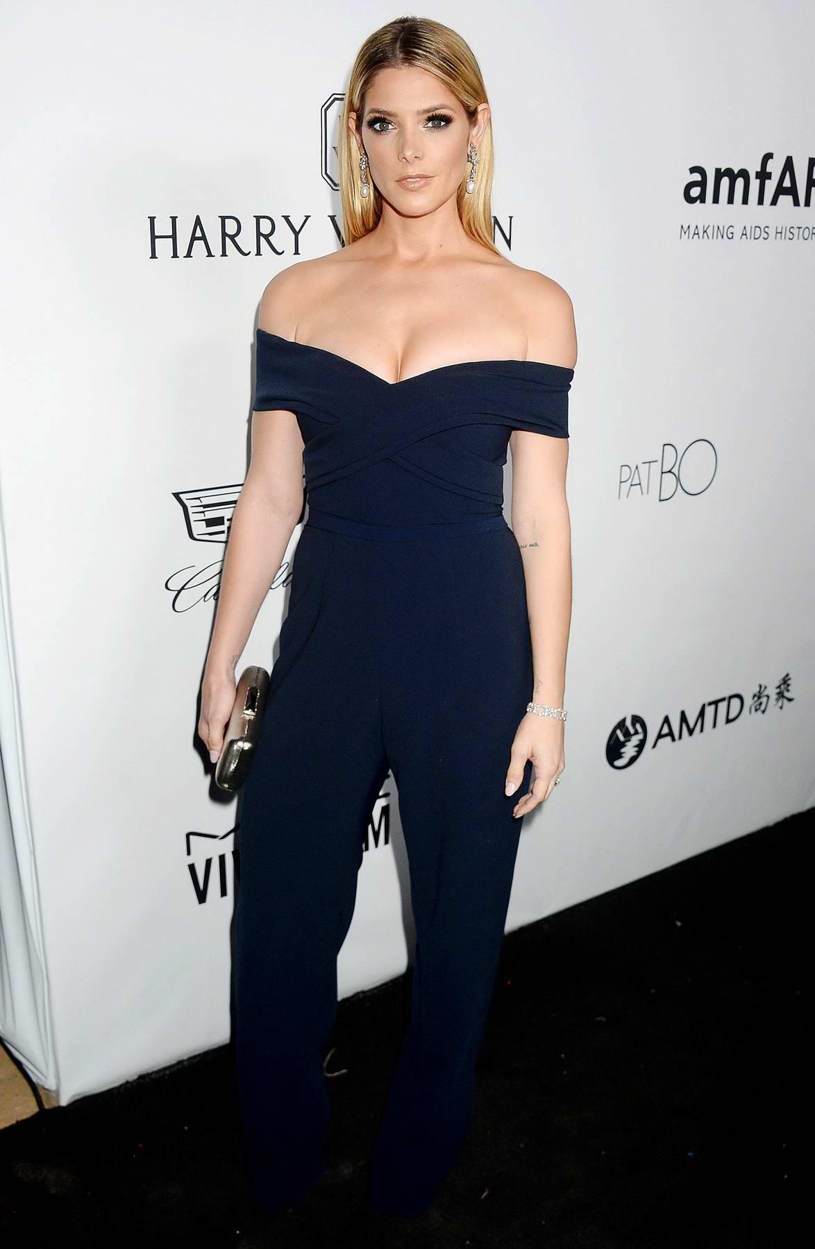 Ashley Greene at amfAR Inspiration Gala in Los Angeles