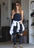 Audrina Patridge moves back into her home in Los Angeles