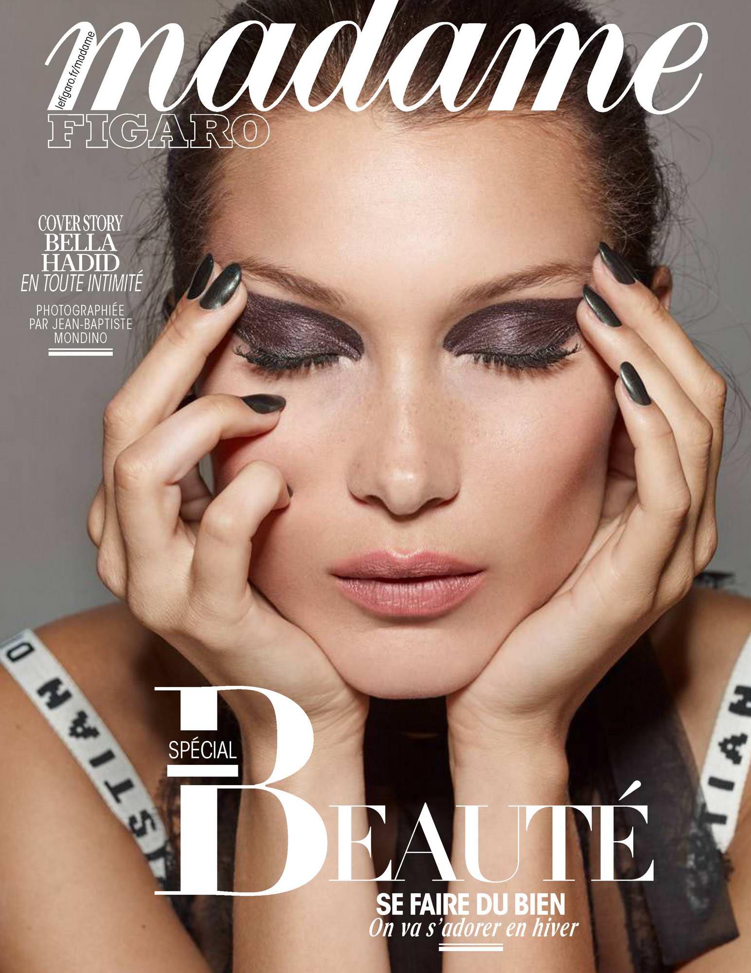 Bella Hadid in Madame Figaro Magazine, October 2017