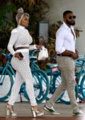 Blac Chyna heads to the BET Awards in Miami