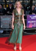 Carey Mulligan attends Mudbound film premiere during BFI London Film Festival in London