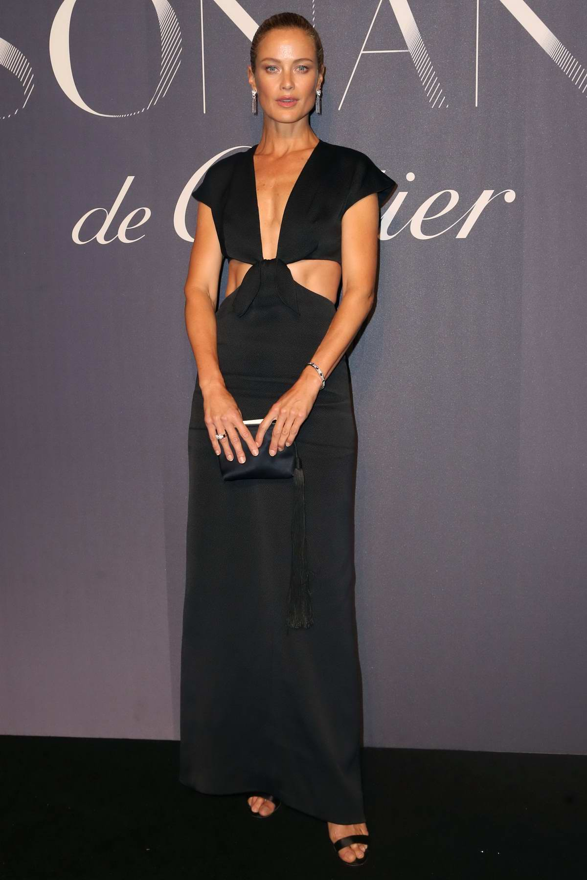 Carolyn Murphy at Resonances de Cartier jewelry collection launch in New York