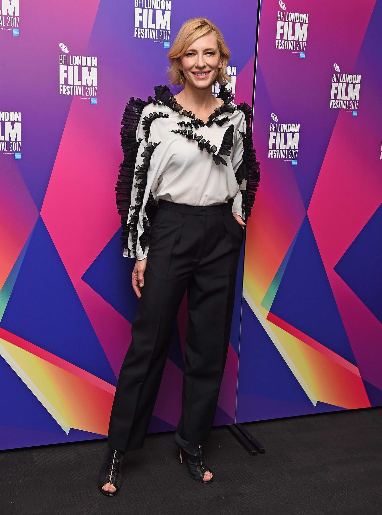 Cate Blanchett at the BFI Southbank in London