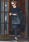Charlize Theron spotted leaving her hotel in Montreal, Canada