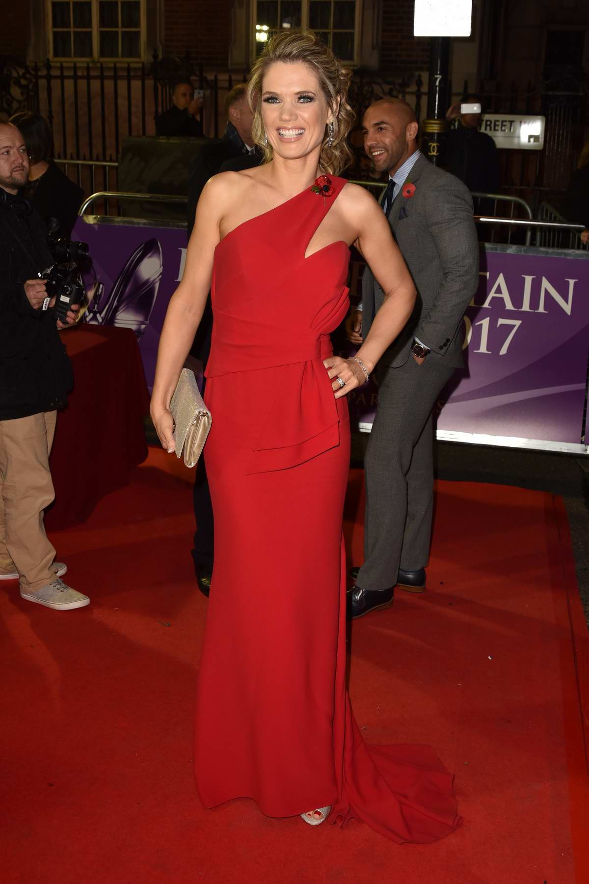 Charlotte Hawkins at the Pride of Britain Awards held at the Grosvenor House in London