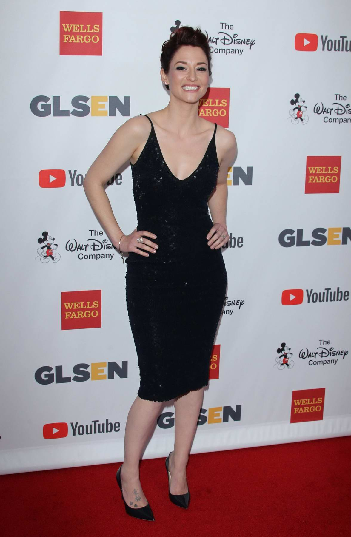 Chyler Leigh at GLSEN Respect Awards in Los Angeles
