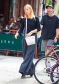 Claire Danes takes a walk around SoHo in New York City