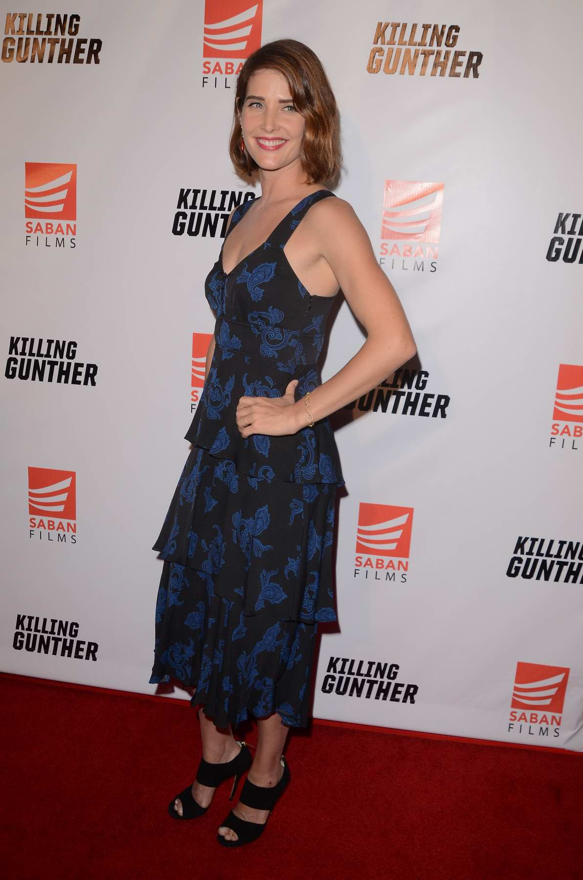 Cobie Smulders at the screening of Killing Gunther in Los Angeles