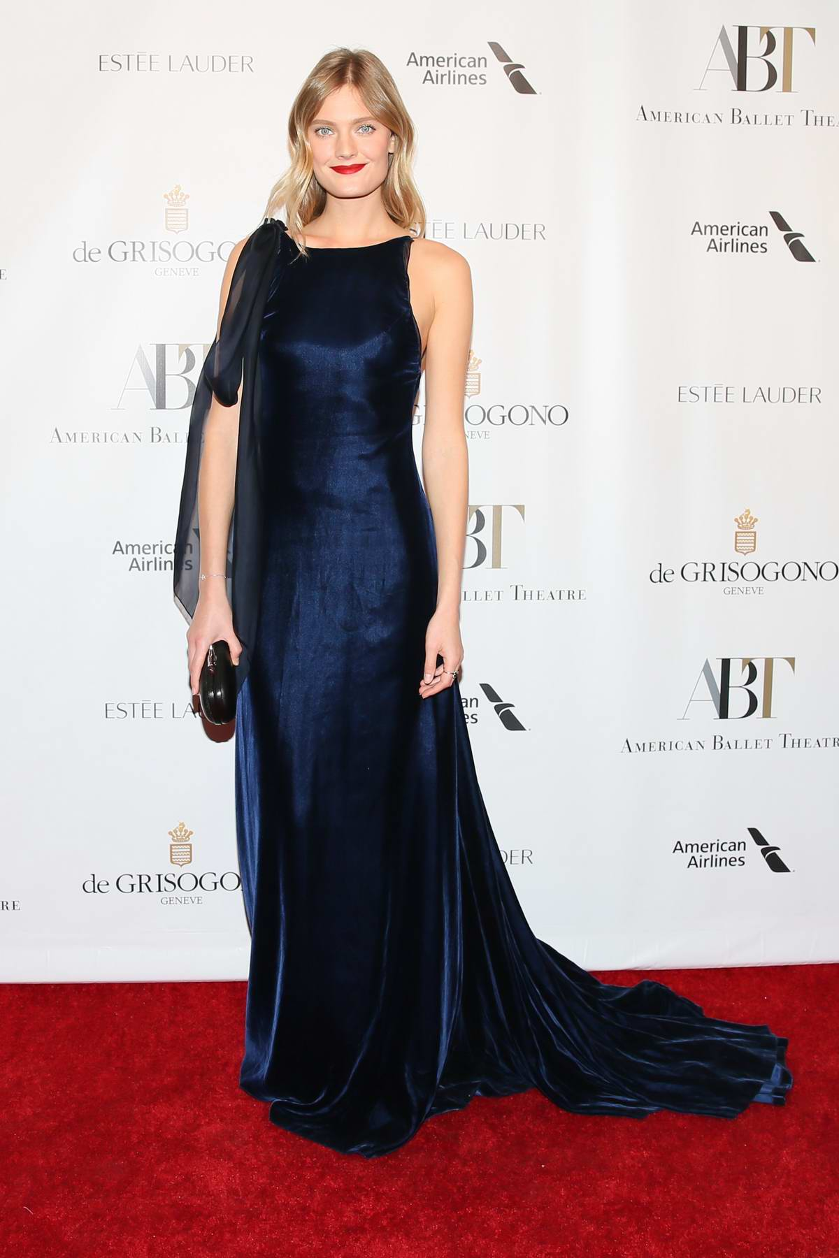 Constance Jablonski at American Ballet Theatre Fall Gala in New York