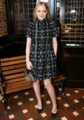 Dakota Fanning at Through Her Lens: The Tribeca Chanel Women's Filmmaker Program Luncheon in New York City