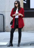 Dakota Johnson chats on her iPhone while out in Tribeca neighborhood, New York