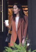Dakota Johnson shopping with her friends at Nomad Vintage in the East Village, New York City