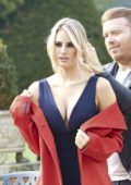 Danielle Armstrong does a fashion shoot in Essex, UK