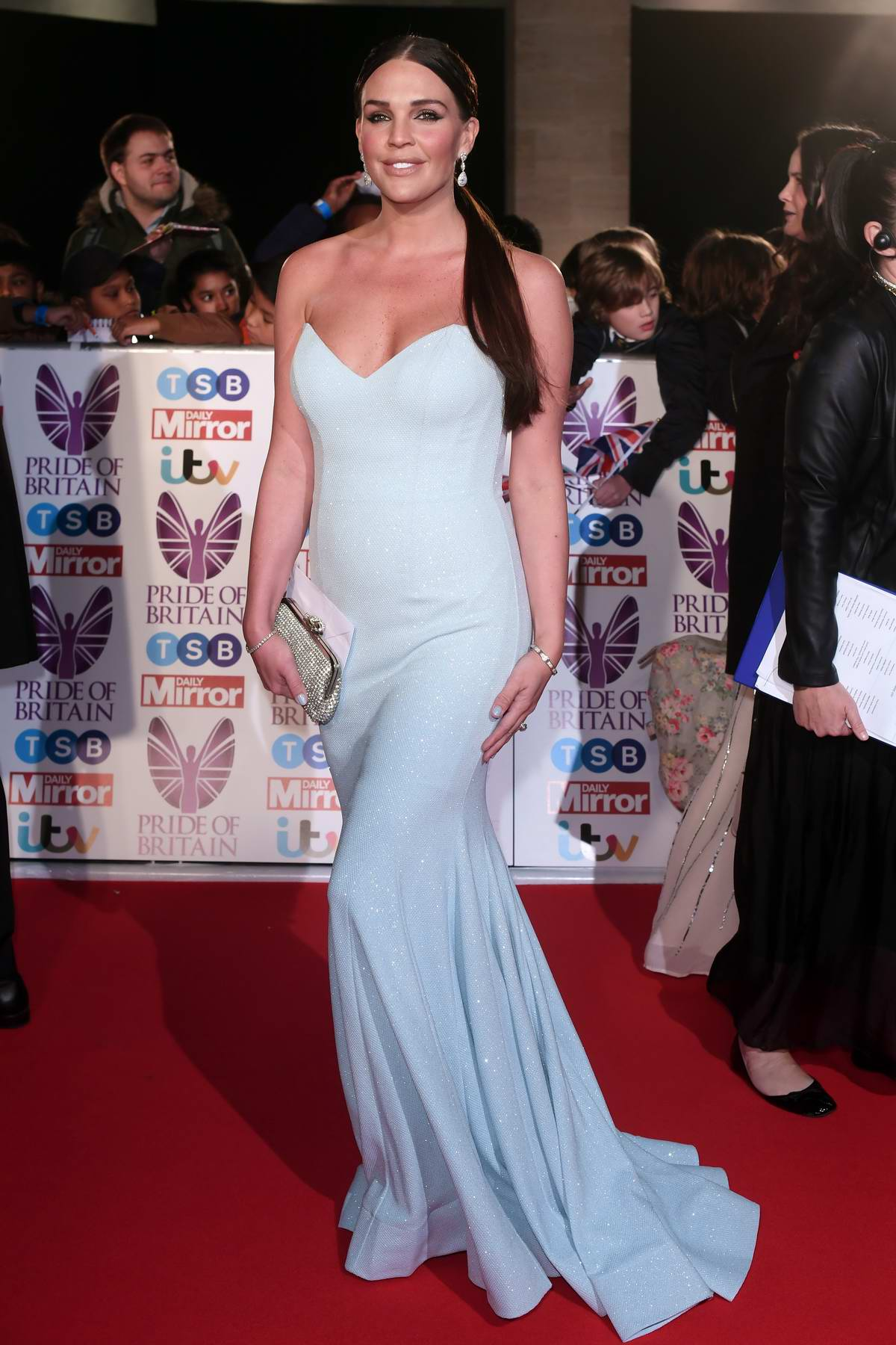 Danielle Lloyd at the Pride of Britain Awards held at the Grosvenor House in London