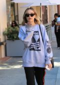 Delilah Hamlin blow kisses to photographers while out and about in Beverly Hill, Los Angeles